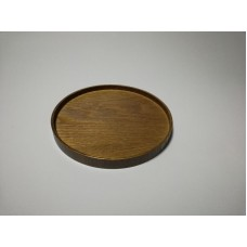 Round Japanese style wooden tray TL20200302_03